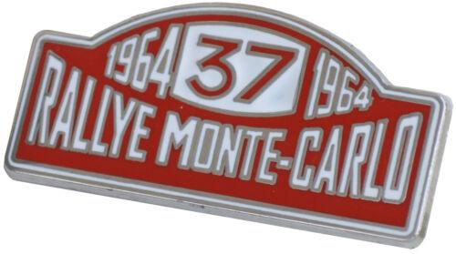 Rallye Monte Carlo 1964 Mini Cooper lapel pin
