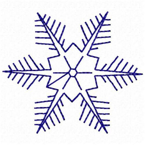 Snowflake Collection 9 Machine Embroidery Designs