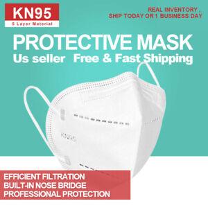 [50 PCS] KN95 Protective 5 Layer Face Mask Disposable Respirator [BFE 95% PM2.5]
