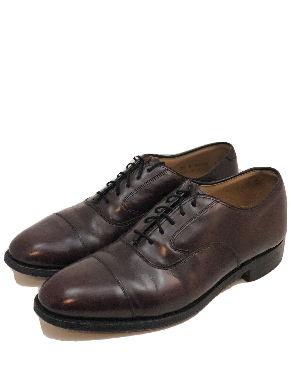 Vintage JOHNSTON MURPHY Limited Oxford Men's Shoes Sz 8.5 Made in USA