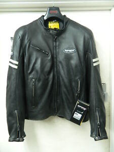 29dadf3e1 Details about SPIDI ACE LEATHER JACKET BRAND NEW WITH TAGS
