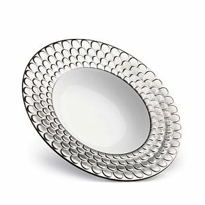 Image Is Loading L 039 Objet Aegean Soup Plate Platinum Ag6300