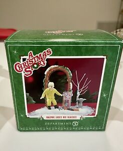 HTF-Dept-56-A-Christmas-Story-Village-Ralphie-Loses-His-Glasses-NIB-4021892
