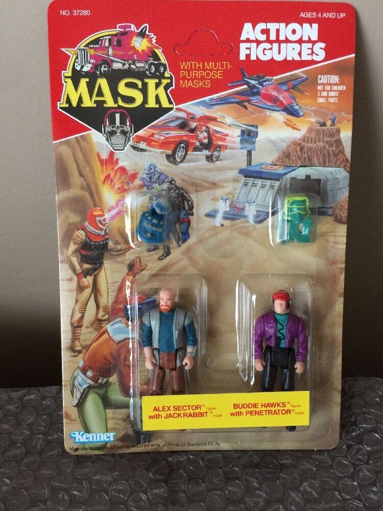 Kenner vintage MASK Alex Sector Buddie Hawks M.A.S.K.