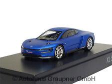 VW XL Sport Studie Racing Blue Matt 1:43 Modellauto Volkswagen 6Z3099300A XL1