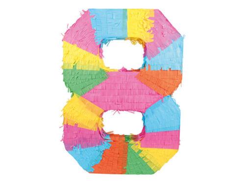 Pinata Chiffres 0-9 Enfants Anniversaire 48 x 37 cm décoration geburtstagsdeko Fête