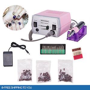 PROFESSIONAL-ELECTRIC-NAIL-FILE-DRILL-Manicure-Tool-Pedicure-Machine-Set-kit