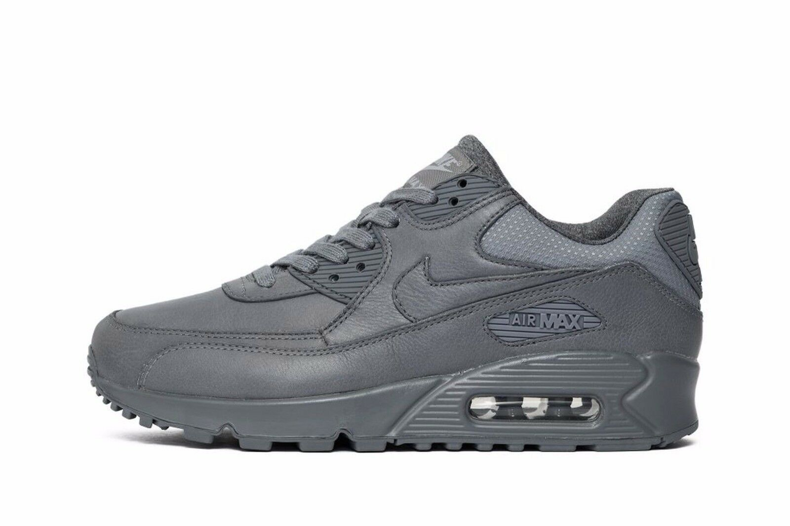 NIKE AIR MAX 90 Pinnacle Limited  Wmn Sz 6.5 839612-003 COOL GREY LEATHER