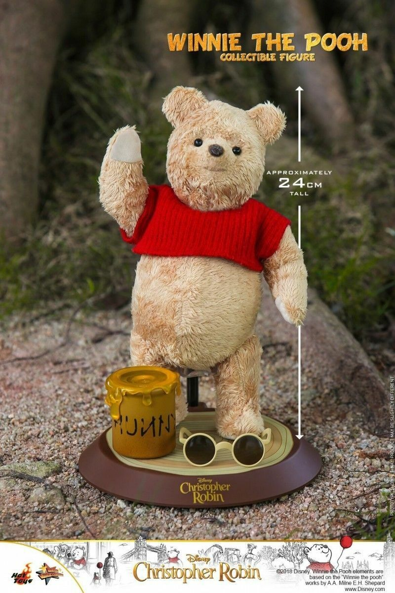 Hot Toys Christopher Robin Winnie Pooh 1 6 acción figura MMS502