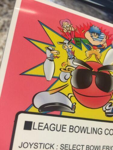 League Bowling Neo Geo Mini Arcade Marquee