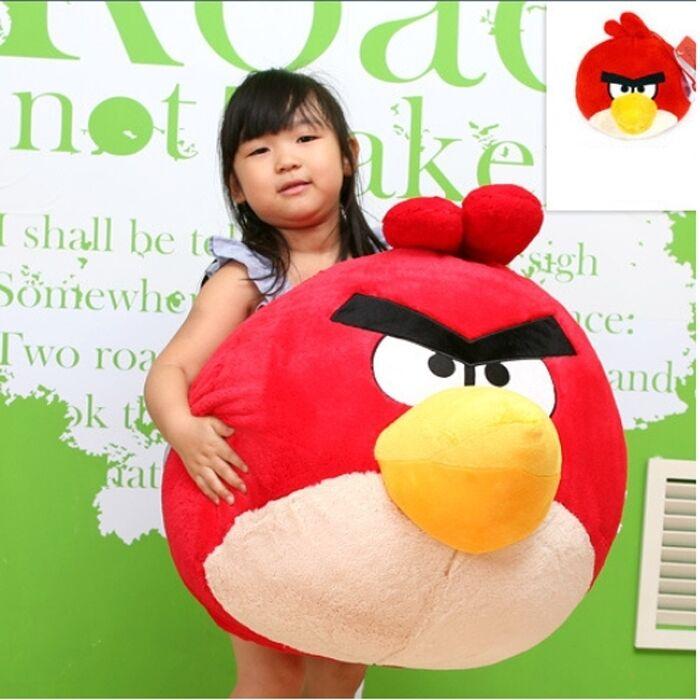 argBird röd Bird 70cm (27.5tum)arg Bird Character röd Doll Big Storlek Doll