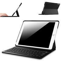 For Apple Ipad Mini 1 2 3 / Air 2 Case Cover W/ Built-in Bluetooth Keyboard