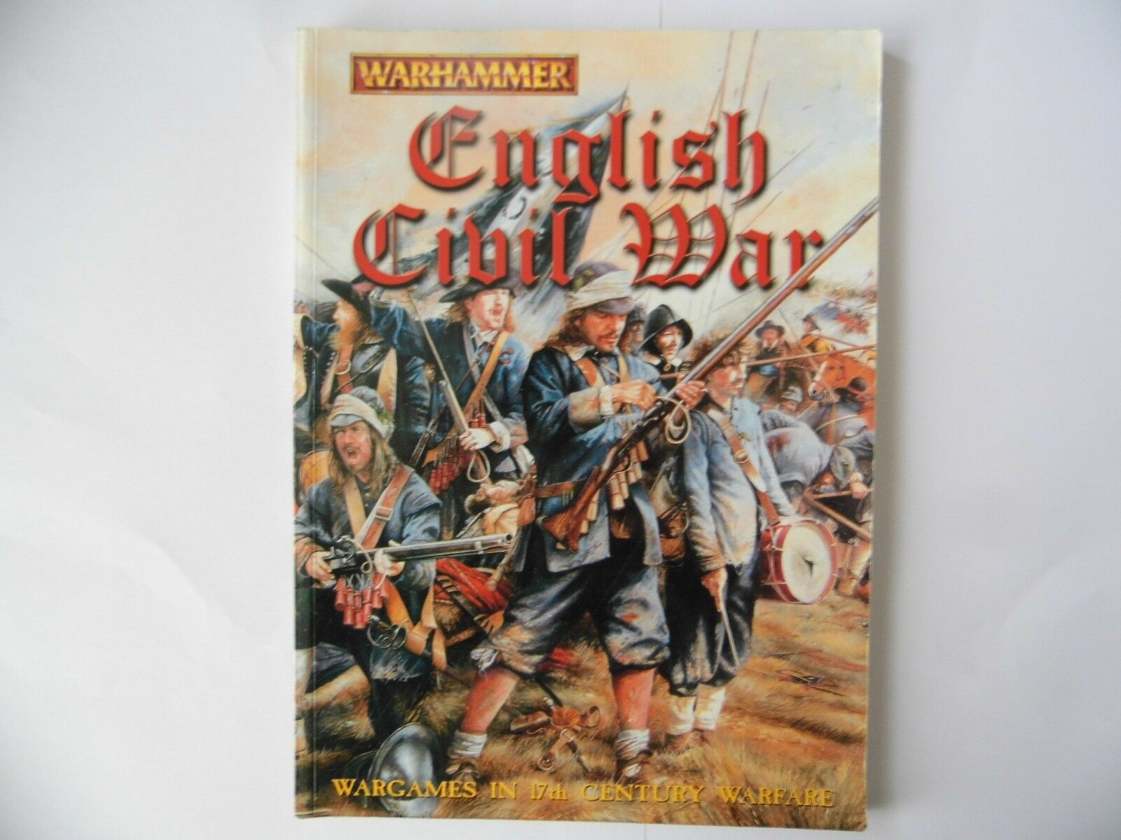 WARHAMMER - ENGLISH CIVIL WAR -  WARGAMES RULES - USED