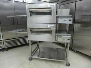 2016-Lincoln-1132-Double-Electric-Conveyor-Pizza-Sandwich-Fry-Convection-Oven