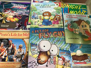 Kids-Story-Time-Bundle-Lot-of-20-Story-Books-for-toddlers-Fun-Library-RANDOM-MIX