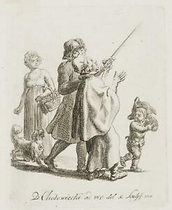 Chodowiecki (1726-1801). il supplica Vogt; pressione grafico 3