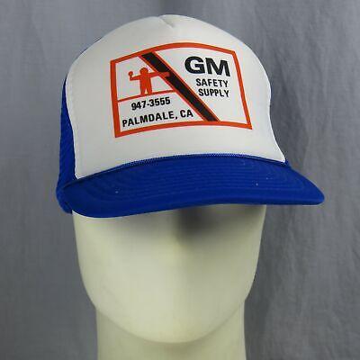Intenzionale Vintage Gm Sicurezza Alimentatore Palmdale California Snapback Cappello Otto Una Grande Varietà Di Merci