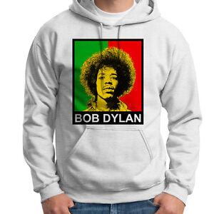 Details about Jimi Hendrix Bob Dylan Cool T shirt Stoner 420 Classic Rock Hoodie Sweatshirt