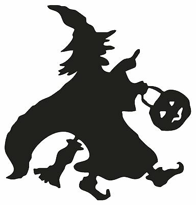 Witches Halloween Cauldron Magic Spells Broom Vinyl Decal Stickers sma SM7-63