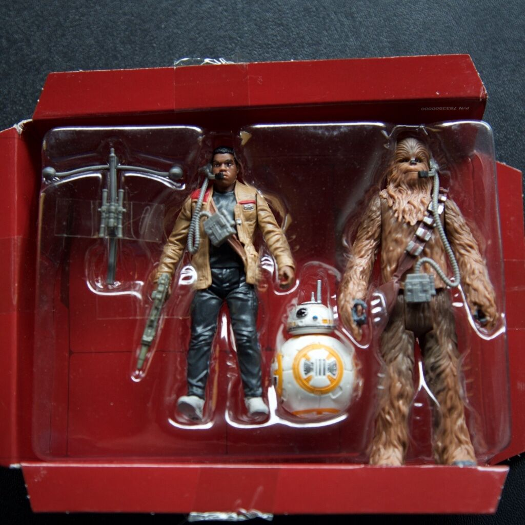 Star wars force weckt finn chewbacca bb-8 piloten 3 3   4  - actionfiguren tfa