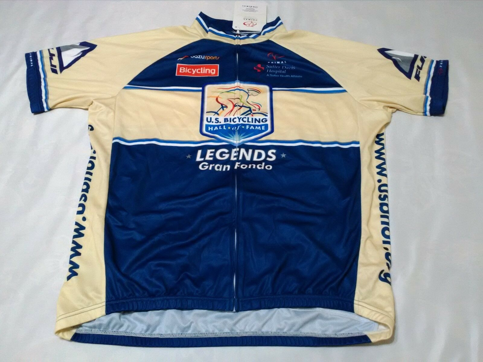 NWT primal mens cycling shirt top  riding racing jersey us hall fame legends 2XL  online shopping