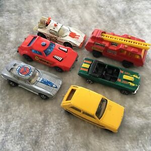 Lot Of 5 70 S Hot Wheels Matchbox Lidco Toy Cars Corvette Ebay