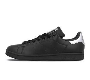 nuove adidas le originali stan smith scarpe [bb5156 nero / / nero