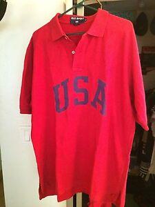 Ralph Lauren Polo USA Stadium Vintage Olympic Spellout 92
