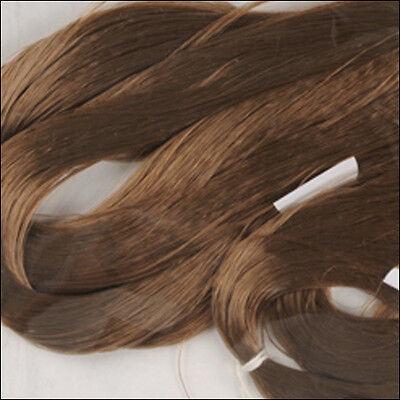 Wine brown Custom OOAK//Reroots  30gram SARAN Hair 0362 1 oz