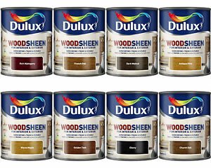 Dulux woodsheen woodstain for interior exterior all colours 750ml ebay - Exterior wood paint colours uk concept ...