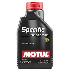 1-Litro-MOTUL-ESPEC-FICO-50800-50900-0w-20-ACEITE-ACEITE-DE-MOTOR