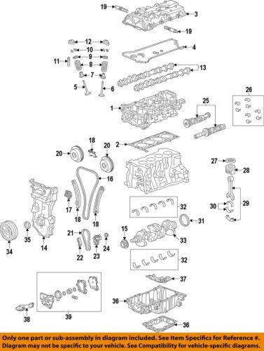 2013-2015 CHEVY MALIBU 2.5 CYLINDER HEAD GASKET NEW GM # 12648979