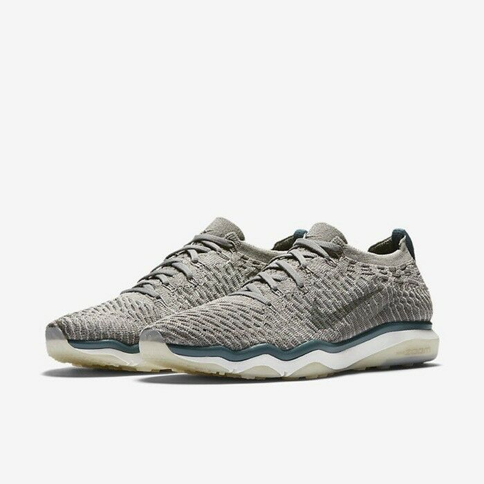 NikeLab Air Zoom Fearless Flyknit UK 3 EU36 Light Charcoal Sail