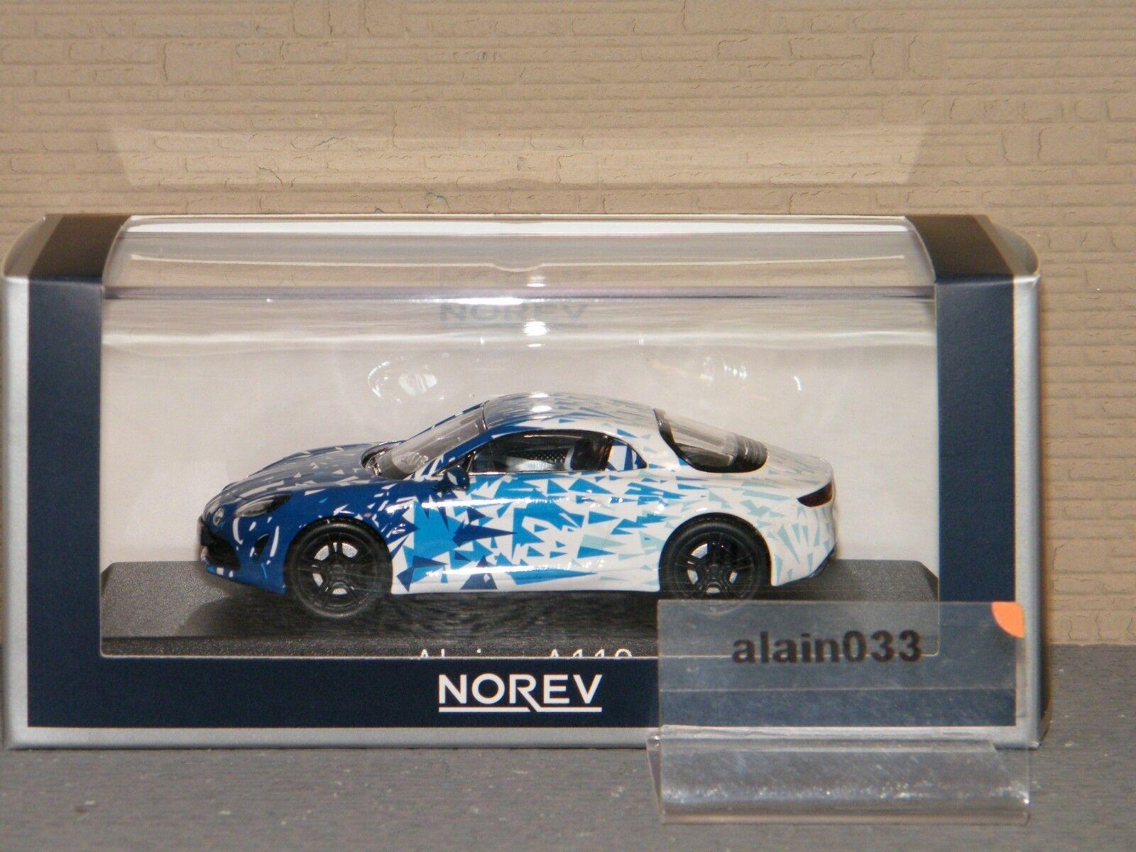 ALPINE A110 2017 White & bluee Test Test Test Version NOREV 1 43 Ref 517863 1accc2