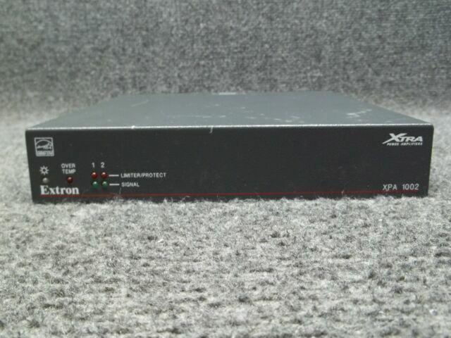 EXTRON XPA 1002 AMPLIFIER RACKMOUNT