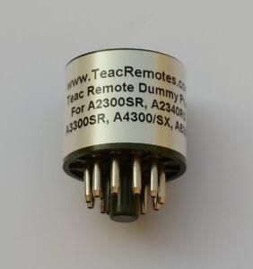 Teac-Dummy-Remote-Plug-A2300SR-A2340RS-A3300SR-A4300-A4300SX-A6300-RC-140