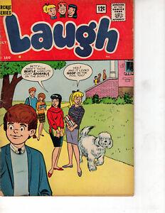 LAUGH-160-1964-ARCHIE-COMICS-JOSIE-by-DeCarlo