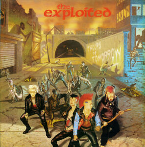 The Exploited Troops Of Tomorrow Vinyl New