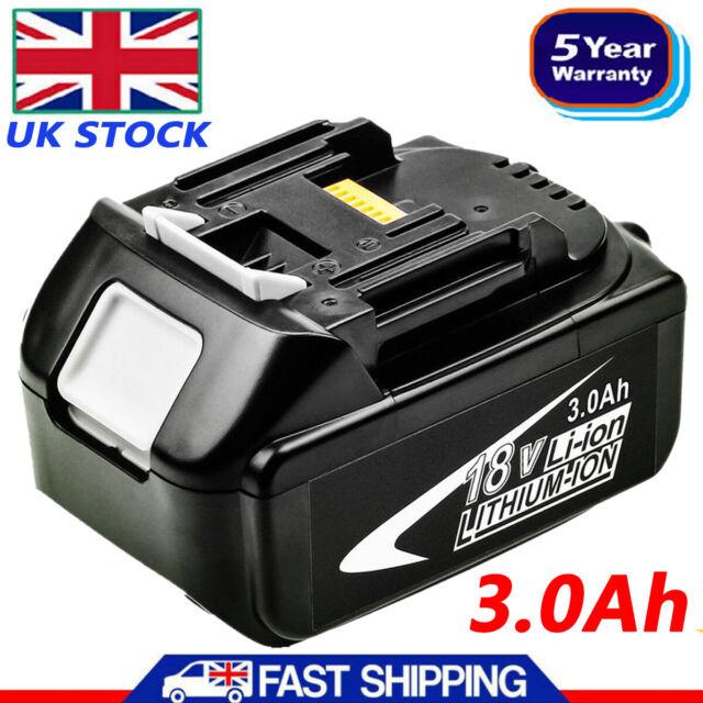 18V 3.0AH Battery for Makita BL1860 BL1850 BL1840 BL1830 LXT LITHIUM ION 18 Volt