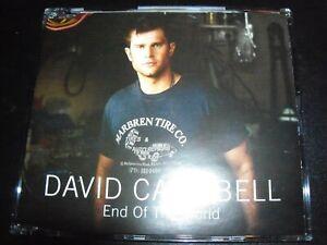 David-Campbell-End-Of-The-World-Rare-Australian-CD-Single-Like-New