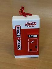 Coca-Cola Christmas Collectable Tree Decoration - Vending Machine