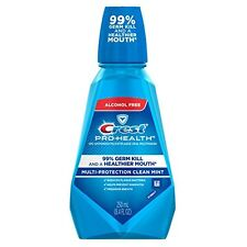 Crest Pro-Health Oral Rinse Refreshing Clean Mint 250 mL Each