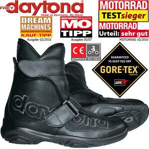 Zu Wasserdicht Gore Journey Details Xcr Daytona Atmungsaktiv Motorradstiefel Tex Stiefel 7gb6fy