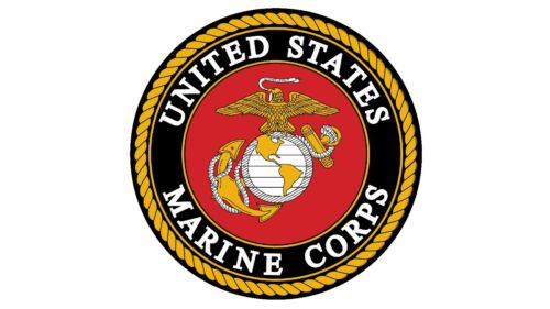 "MAGNET USMC UNITED STATES MARINE CORPS Semper Fidelis Military 10x10/"" Car Fridge"