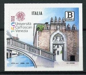 Italy-2018-MNH-Ca-039-Foscari-University-1v-S-A-Set-Bridges-Architecture-Stamps
