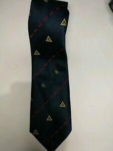 Dies-betrifft-insbesondere-200-Atkinsons-schwarze-Krawatte-mit-Gold-Omega-Logos-Krawatte-Vintage
