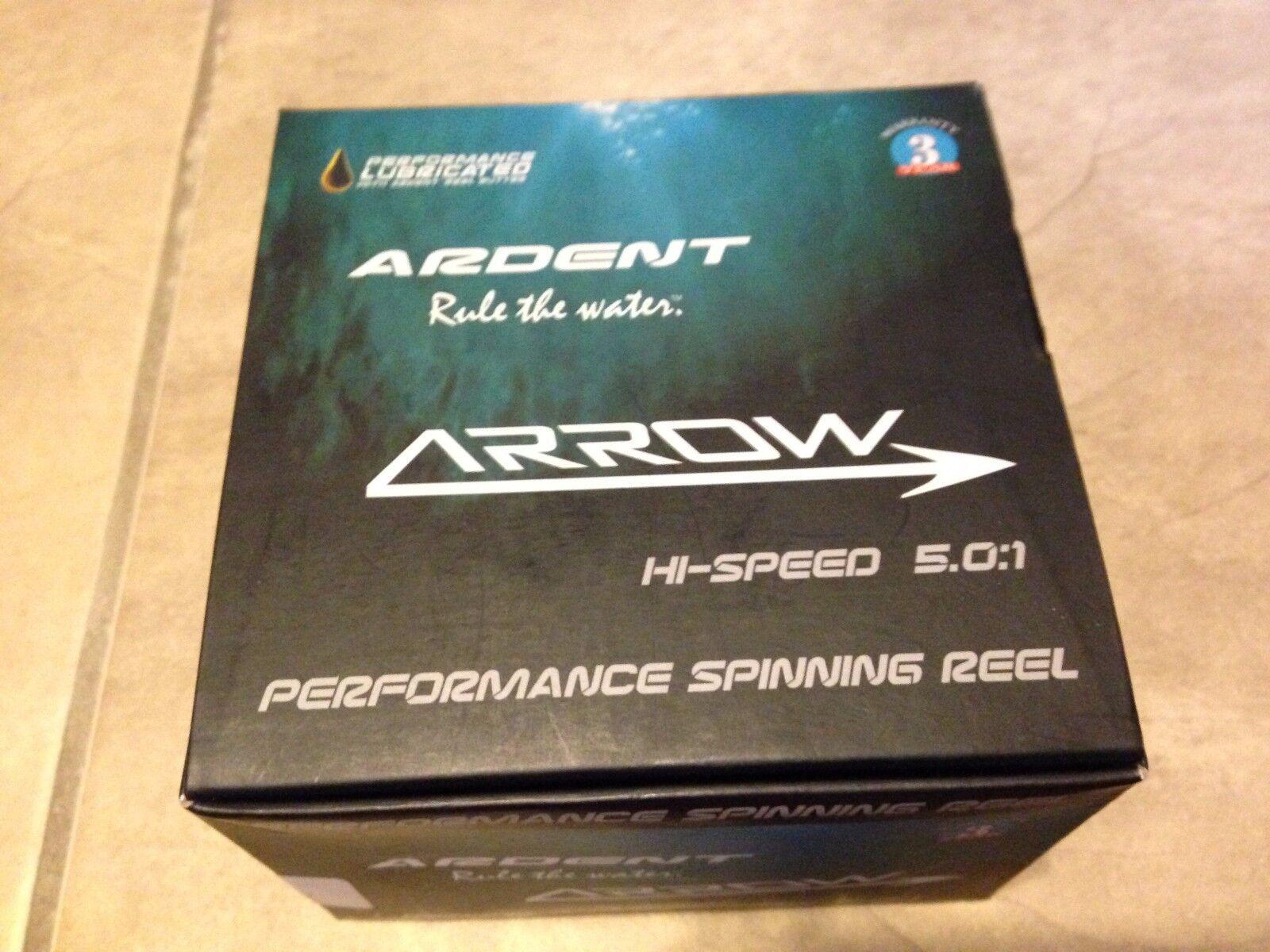 Ardent Arrow Spinning Fishing Reel HiSpeed 5.0 1 2000 NEW in box