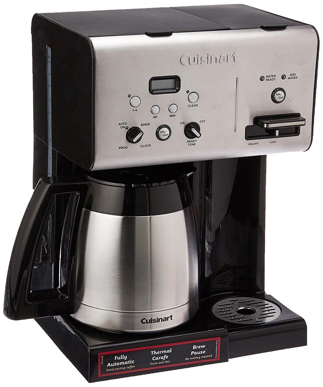 Cuisinart CHW-14 Café Plus 10-Cup thermique programmable Cafetière, Noir