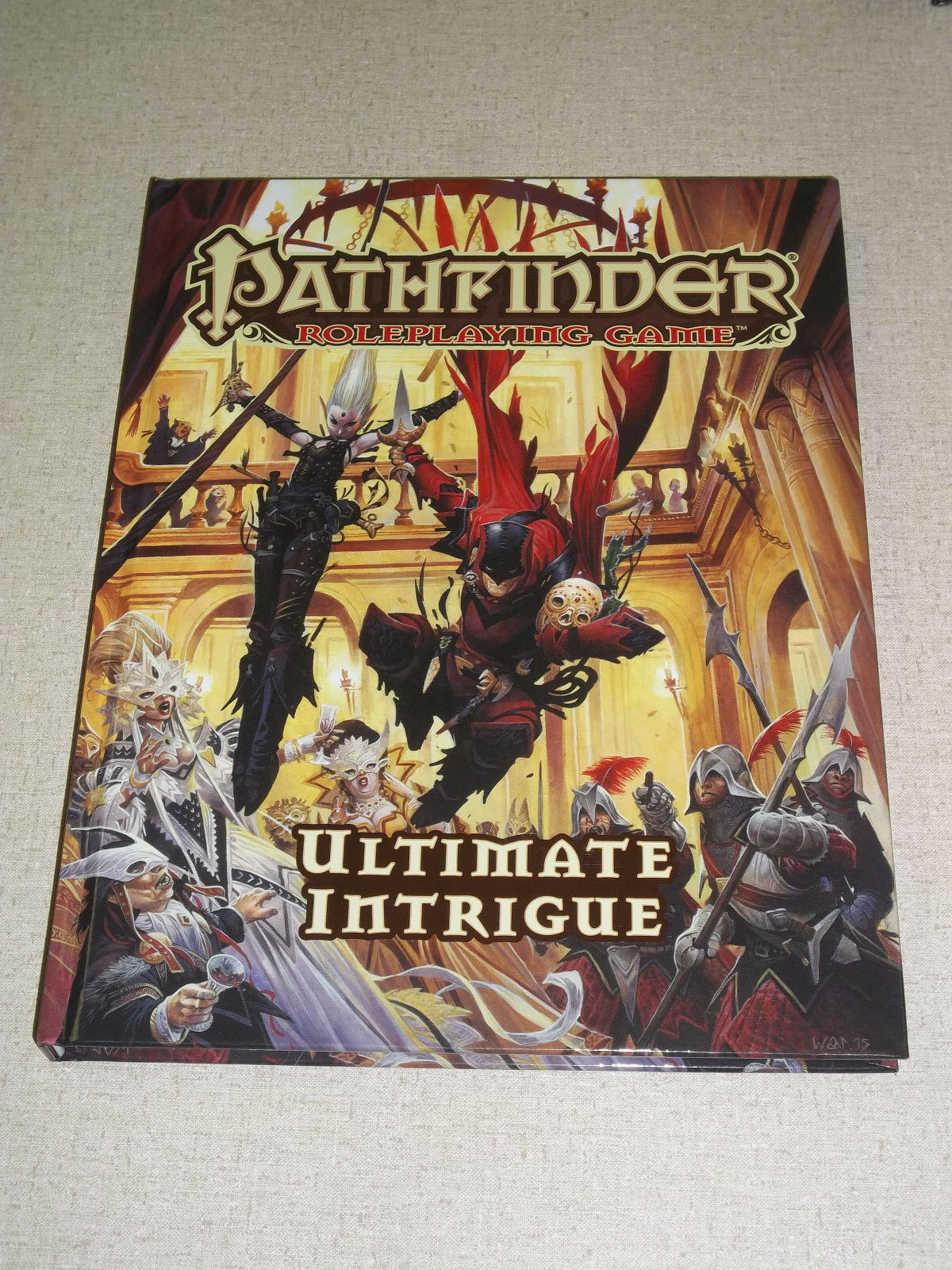 Pathfinder ULTIMATE INTRIGUE 3.5 Hardcover Rulebook    Great Deal