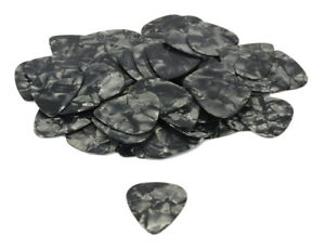 Set-of-10-71mm-Guitar-Picks-Black-Tortoise-Shell